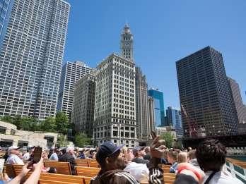 Chicago River: Architektur-Bootsfahrt - Ticket ohne Anstehen