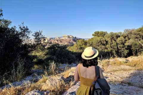 Athene: begeleide mythologische wandeltocht
