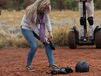 Ayers Rock: Segway-Tour Uluru-Basis und Wasserloch Mutitjulu