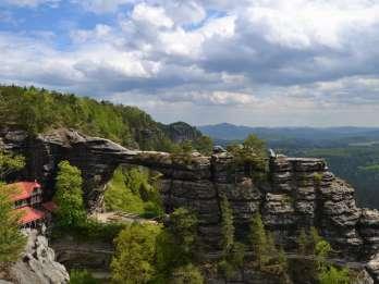 Ab Prag: Wandern im Nationalpark Böhmisch-Sächsische Schweiz
