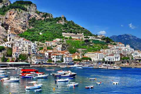 Amalfi Coast: 8-Hour Tour by Car and Boat