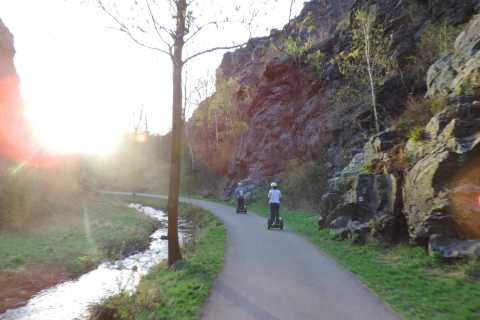 From Prague: Private 3-Hour Segway Trip to Prague Canyons