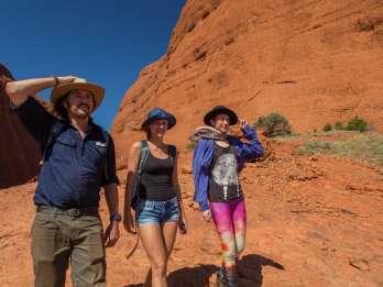 Ab Alice Springs: Übernachtung im Uluru Red Safari-Zentrum