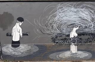 Rom Street Art: Ostiense Rundgang