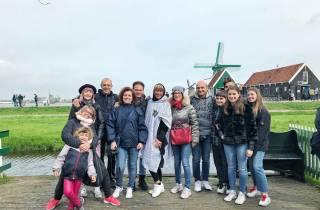 Zaanse Schans: 3,5-stündige Windmühlen-Tour auf Italienisch