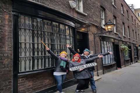 Harry Potter London Taxi Tour with Hop-On Hop-Off Cruise