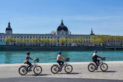 Lyon: Express Tour by E-Bike