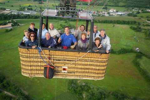 Fontainebleau Hot Air Balloon Ride