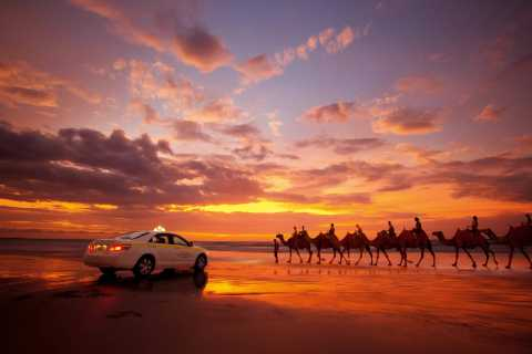 Agadir: Sunset Camel Ride With Dinner