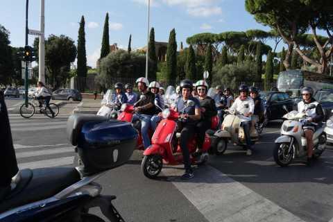 Rome: Vespa Tour with Optional Driver