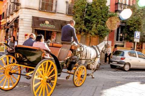 Séville: visite authentique et romantique en calèche