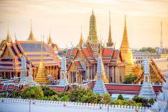 Tour Flexível a Pé: Grande Palácio, Wat Pho e Wat Arun