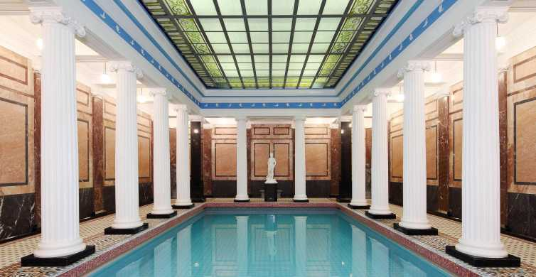Moscow: Sanduny Baths Spa Ticket with Hotel Pickup
