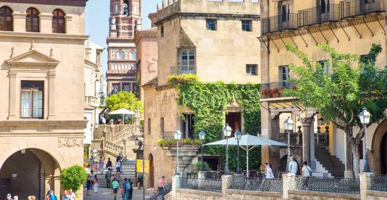 Barcelona: Poble Espanyol Skip-The-Line Ticket