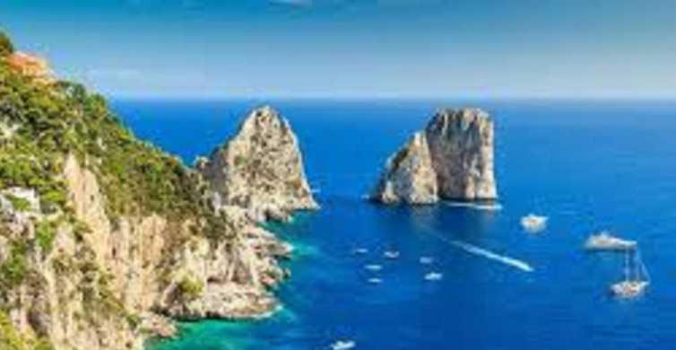 Viagem de um dia de luxo a Capri saindo de Roma
