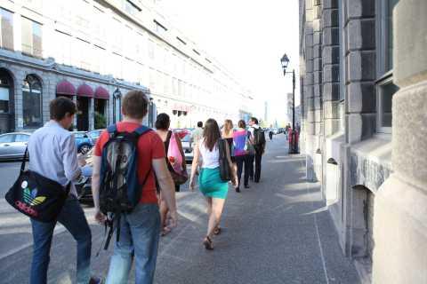 Vieux-Montréal: visite à pied du quartier ouest avec guide