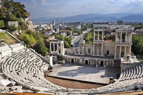 Da Sofia: tour di un'intera giornata a Plovdiv con pranzo