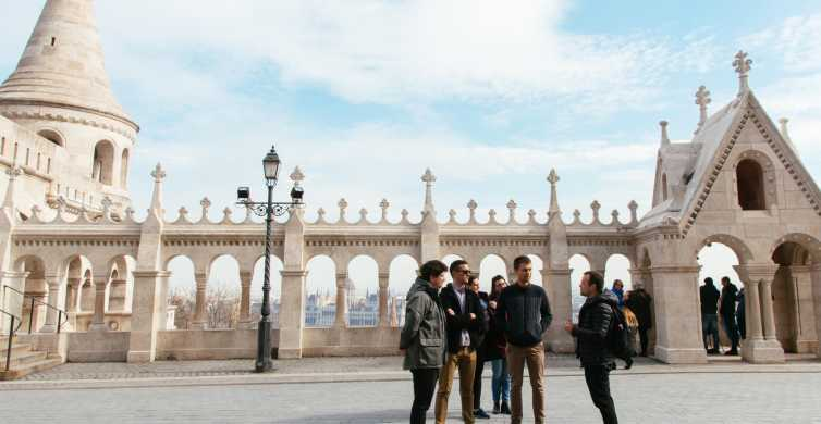 Budapest: Walking Tour of Buda Castle with a Historian