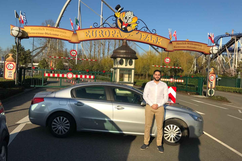 Ab Straßburg: Tickets Europa-Park mit privatem Transfer