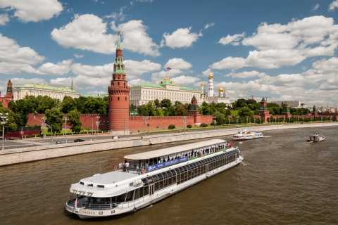 Moscow River Cruise with Dinner and Private Guide