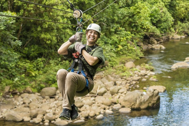 San Jose: Rainforest Costa Rica Atlantic Zip Line Tour