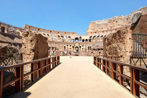 Rome: Special Access Colosseum Arena Floor Tour