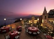Taormina: Rundgang zum Sonnenuntergang und Aperitif
