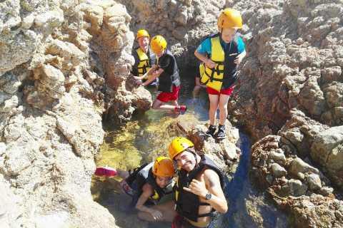 Cagliari: excursion guidée professionnelle sur le coasteering