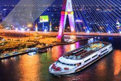 Bangkok: Show e Jantar de 2 Horas no Cruzeiro White Orchid
