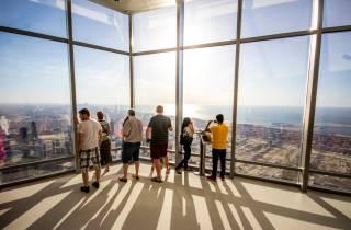 Burj Khalifa: Ticket für Etage 124 & 125 bei Sonnenuntergang