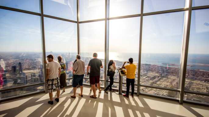 Dubai Burj Khalifa Sunset Tickets: Level 124 & 125