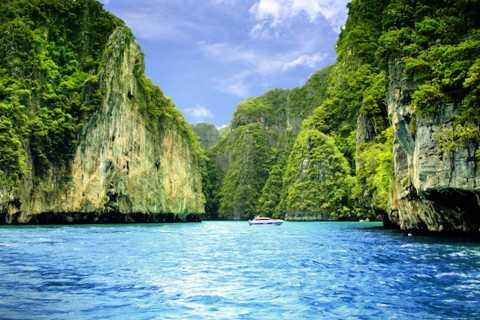 Ab Krabi: Private Schnellboottour zur Inselgruppe Ko Phi Phi