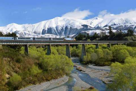 Arthur's Pass with TranzAlpine Train