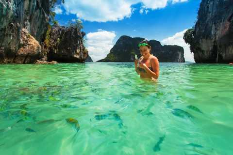 Krabi: Hong Islands Full-Day Private Speedboat Charter Tour