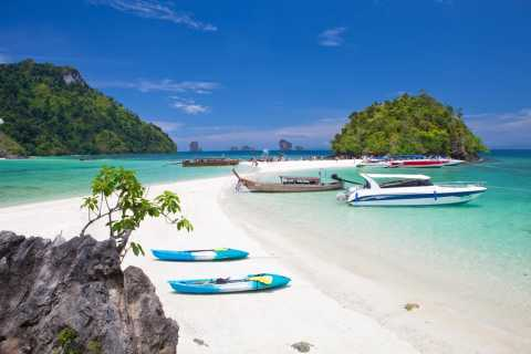 Krabi: 4 Islands & Hong Islands Private Speedboat Charter
