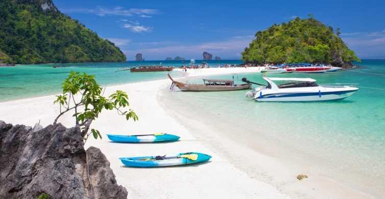 Krabi: charter di motoscafi privati di 4 isole e isole di Hong Kong