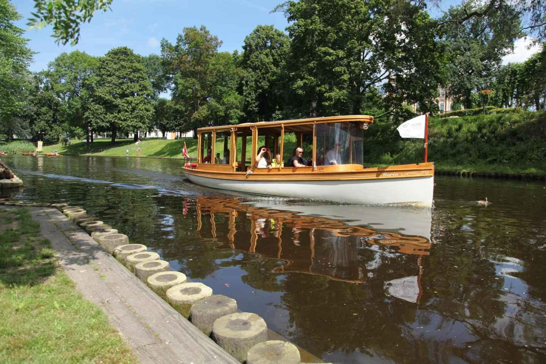 Riga: Sightseeing-Tour per Kanalboot