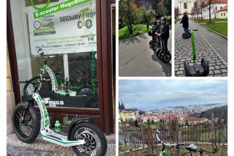 Praag Bezienswaardigheden Tour van Segway en E-Scooter