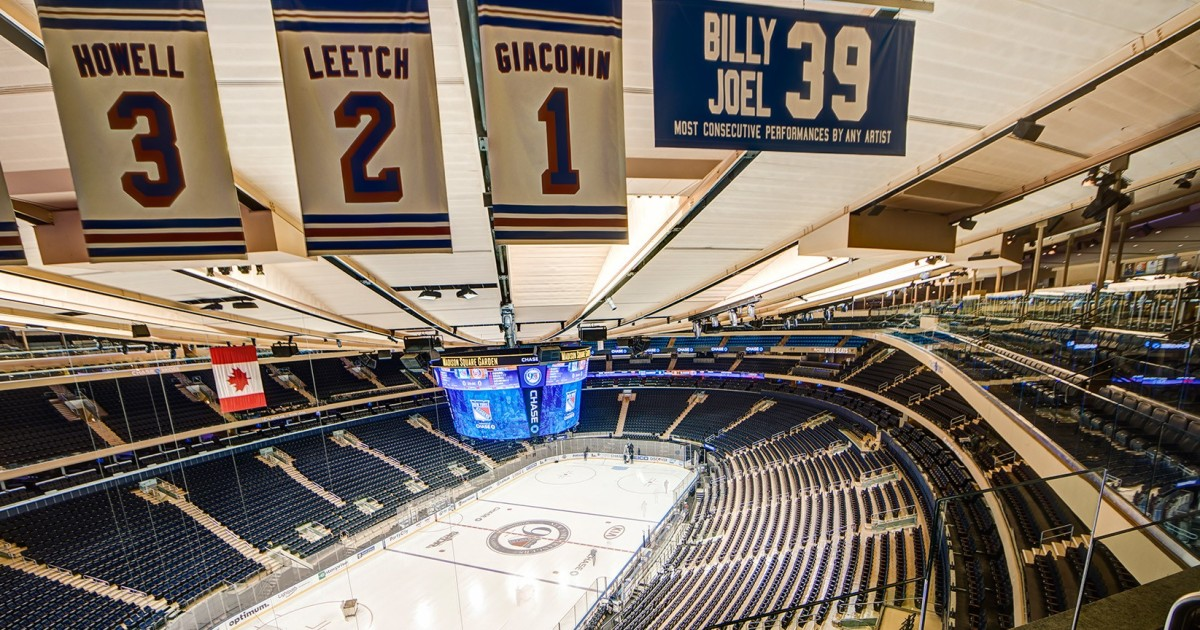Madison Square Garden All Access Tour and Times Square Meal