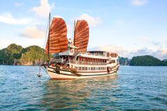 Cruzeiro de 2 Dias na Baía de Ha Long e Ilha Ti Top