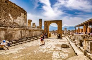Ab Rom: Tagestour nach Pompeji und seinen Ruinen