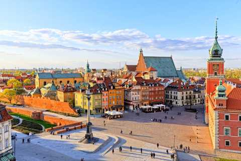 Warsaw: Afternoon City Tour with Pickup & Drop-off