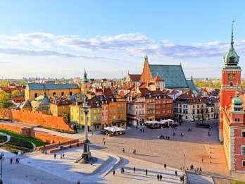 Warschau: Stadtführung am Nachmittag mit Abholung