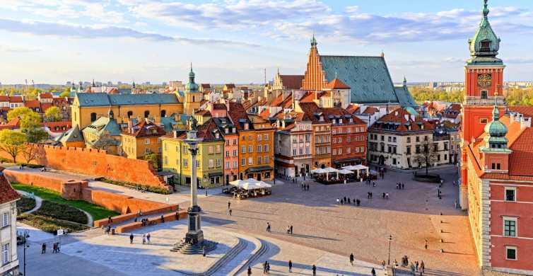 Varsóvia: Passeio Turístico à Tarde c/ Traslado Ida e Volta