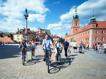 Warschau: Geführte Fahrradtour