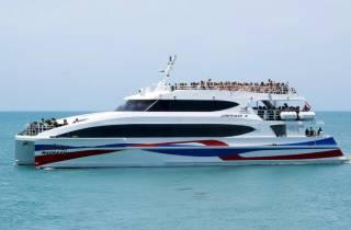 Ab Südthailand & Bangkok: Bootstransfer nach Koh Phangan