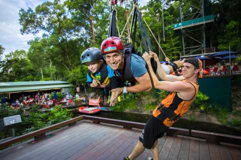 From Cairns: Rainforest Bungee Jump and Giant Swing