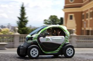 Rom: 24-Stunden-Mietwagen für Elektroautos