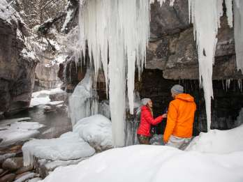 Maligne Canyon: Icewalk-Tour