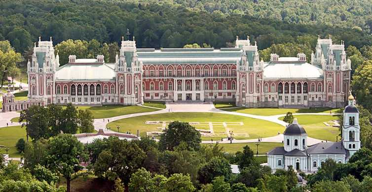 Moscow: Tsaritsyno Park 3-Hour Guided Tour with Pickup
